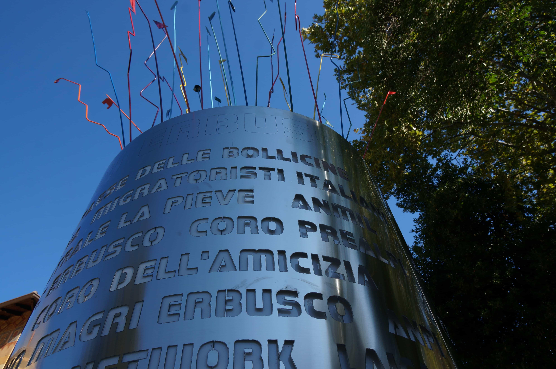 Monumento Associazioni - Lista Civica Erbusco Futura
