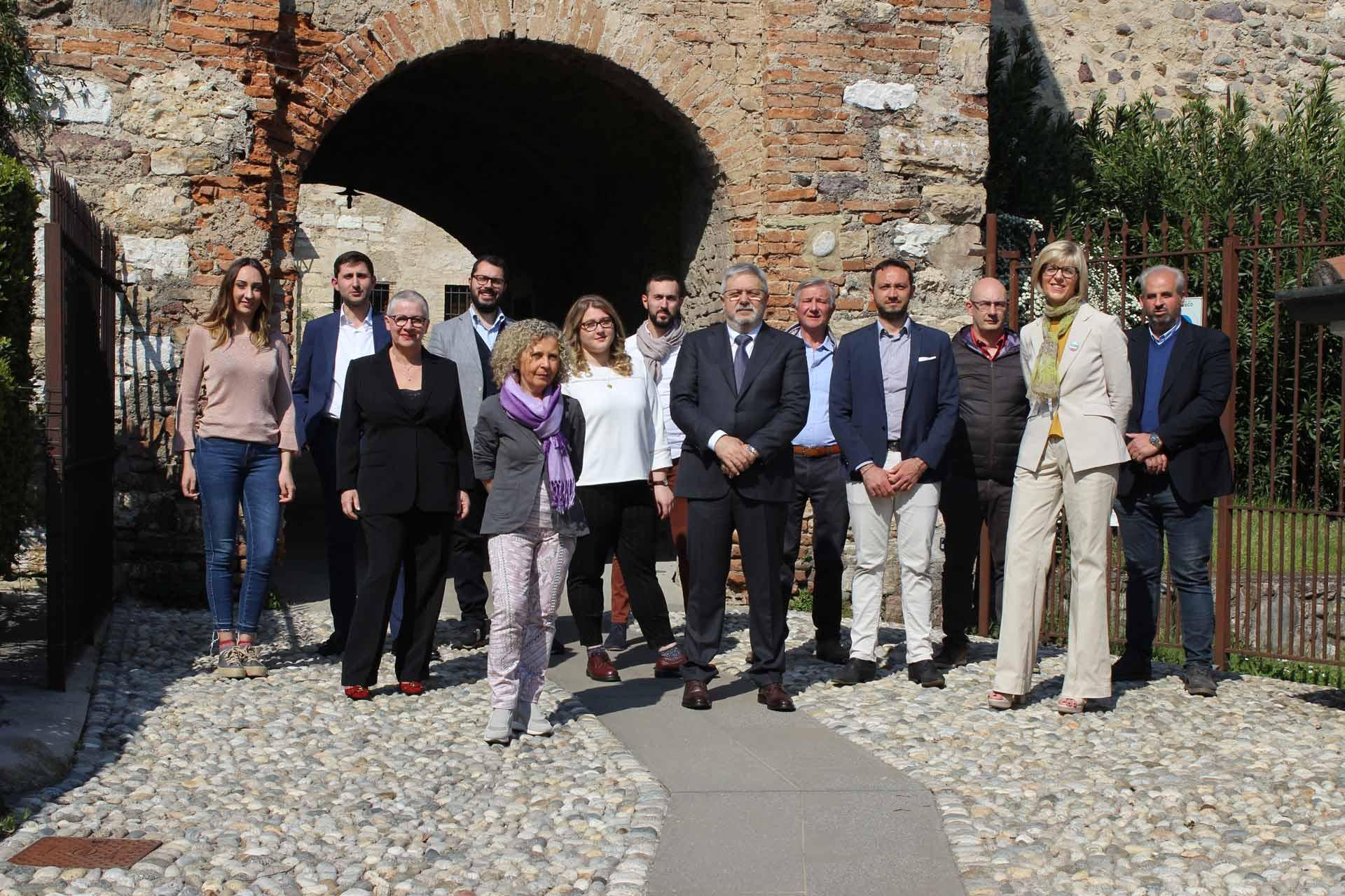 Foto di gruppo Lista Civica Erbusco Futura